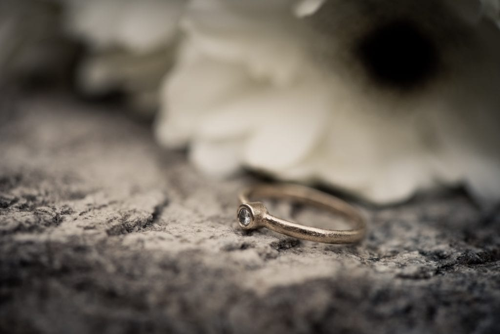 Stainless Steel Groove Ring: Super Gift For Your Husband